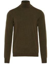 J.Lindeberg Lyd True Merino Sweater - Groen