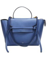 Céline Vintage Tweedehands Riem - Blauw