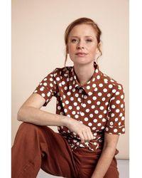 Studio Anneloes Dot Shirt - Bruin