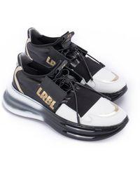 Loriblu Sneakers with two-tone sole - Schwarz