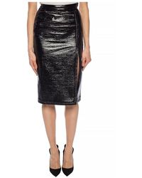 Paco Rabanne Skirt with cut-out Negro