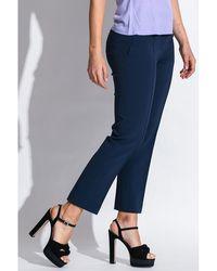 Michael Kors - Trousers Azul - Lyst