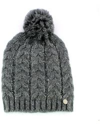 Guess Knitted wool hat - Gris