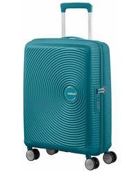 American Tourister Soundbox Spinner 55/20 Exp - Groen