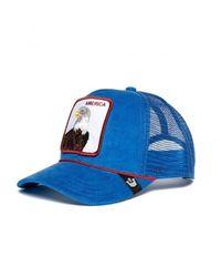 Goorin Bros Gorra America - Blauw