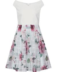 Ted Baker Licious Kleed - Wit