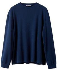 Our Legacy Shrunken Longsleeve T-Shirt - Blu