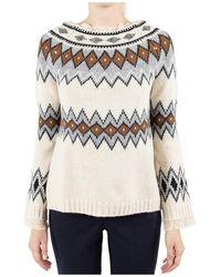 Erika Cavallini Semi Couture - Semi-couture Sweater - Lyst