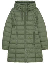 Marc O'polo Hooded Quilted Coat - Groen
