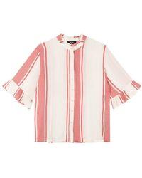 Alix The Label Stripe blouse - 2105910162-012 - Blanc