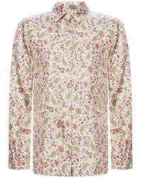 Etro Floral-printed shirt - Neutro