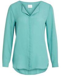 Vila - Vilucy L / S Shirt - Lyst