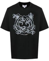 KENZO Tiger T-shirt - Zwart