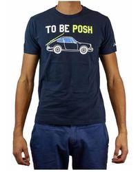 Mc2 Saint Barth Classic T-shirt - Be Posh 61 - Blauw