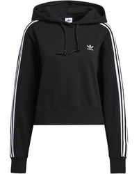 adidas Sweater Short Hoodie - Nero