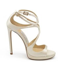 Jimmy Choo Lance Sandals - Wit