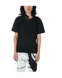Issey Miyake Plissé Pleated T-shirt - Zwart