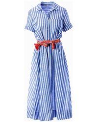 Motel Dress - Bleu