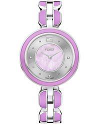 Fendi My Way Bracelet Watch - Roze