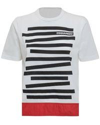 La Martina Print T-shirt - Bianco