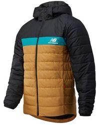New Balance Jacket N.b.mj03524 Wwk - Oranje