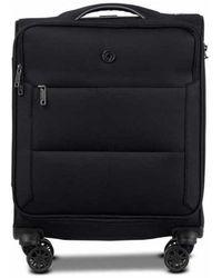 Conwood Soho 55 Cm Black Cabin Suitcase - Zwart