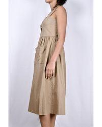 Elsa Esturgie Eclat Dress Beige - Neutro