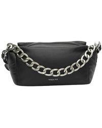 Patrizia Pepe Touch Maxi Chain Bag - Schwarz