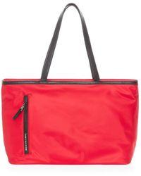 Mandarina Duck Hunter shoulder bag - Rojo