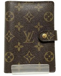 Louis Vuitton Pre-owned agenda cover - Marrone