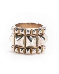 Hermès Espionne Ring Sterling Gris
