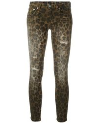 R13 Kate Skinny Jeans - Bruin
