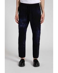 Barena Loose Fit Trousers Azul