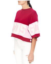 Gcds - T-shirt Rosa - Lyst