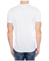 DSquared² T-shirt stampata - Bianco