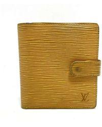 Louis Vuitton Portemonnee - Geel