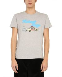Helmut Lang - Crew Neck T-shirt - Lyst