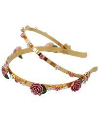 Dolce & Gabbana Headband - Giallo