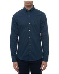 GANT Casual Shirt - Blauw