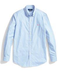 Ralph Lauren Striped Shirt - Blauw