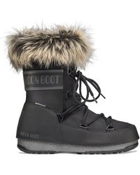 Moon Boot Monaco Low Boots - Zwart