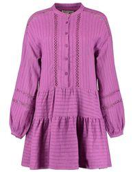 Harper & Yve Yessie Dress - Paars