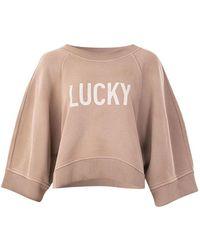 Dior Lucky Boxy Sweater - Naturel
