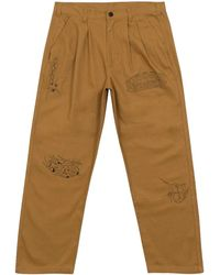 Brain Dead Whips And Chains Pants - Bruin