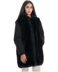 Seventy Reversible Jacket In Faux Fur - Zwart