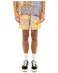Obey Easy Pathos Shorts - Geel