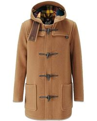 Gloverall Mid Length Duffle Coat - Naturel