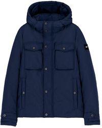 OOF WEAR Winter Jacket - Blauw