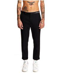 Haider Ackermann Classic Trousers+ha Embroidery - Zwart