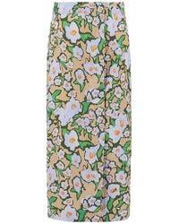 Sportmax Ocarina Skirt - Vert